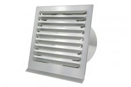 Bij mechanische ventilatie komt frisse lucht binnen via ramen of ventilatieroosters.© fefufoto - Fotolia
