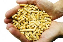 Pellets bestaan uit houtafval van zagerijen zoals houtkrullen en zaagsel.©NYTECH Corp, 03
